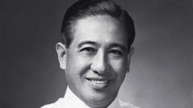 Portrait photograph of a middle-aged Lorenzo Tañada as a Philippine senator