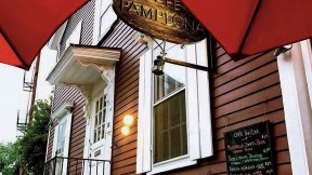 Photograph of Café Pamplona, now out of business