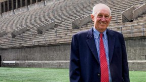 Photograph of Harvard athletics director Robert L. Scalise