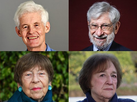 Stephen Cook, Albert Fishlow, Margaret Kivelson, and Helen Vendler