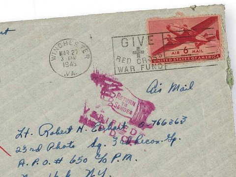 Envelope of an old letter